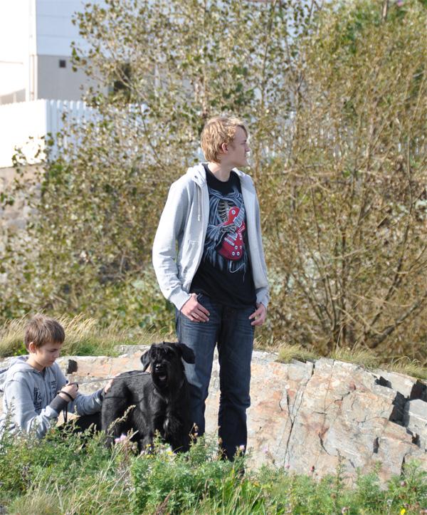 Markus, Azka och Jesper