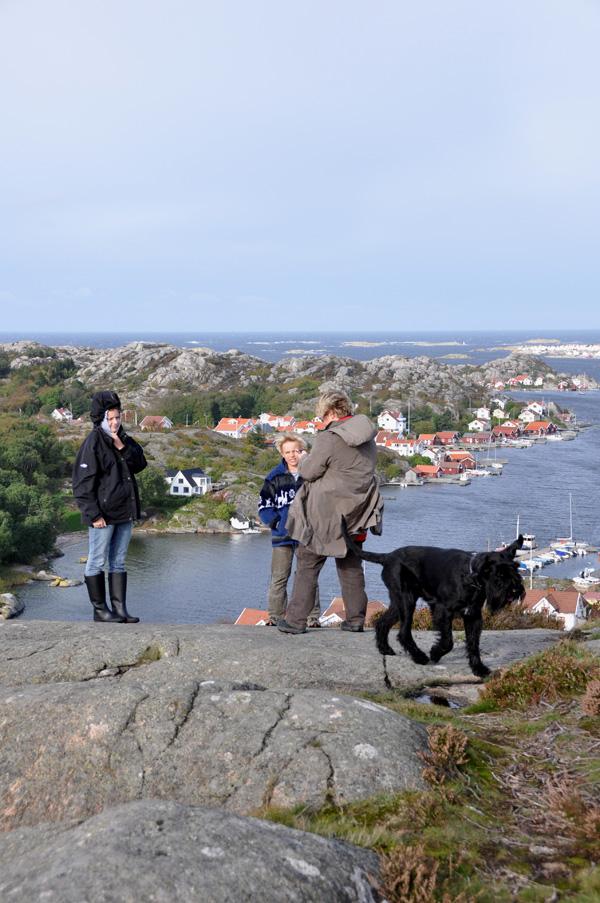 Nina, Henrik, Annelie och Azka